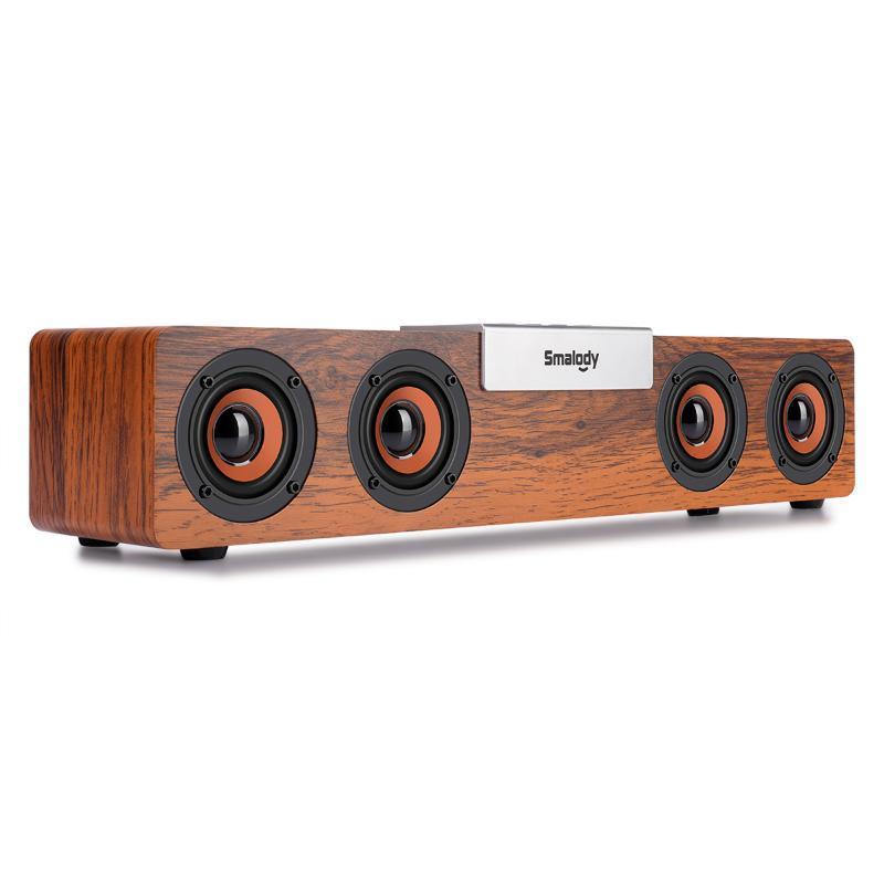 휴대용 열 블루투스 스피커 20W 사운드 바 무선 사운드 박스 음악 서브 우퍼 붐 박스 TF AUX의 USB 사운드 바