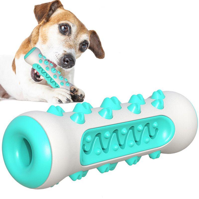 Pet Köpek Oyuncakları Streç Kauçuk Sızdıran Top Pet Kedi Köpek Interaktif Oyuncak Pet Kedi Köpek Çiğnemek Oyuncaklar Diş Temizleme Topları Yavru Oyuncaklar LJ201125