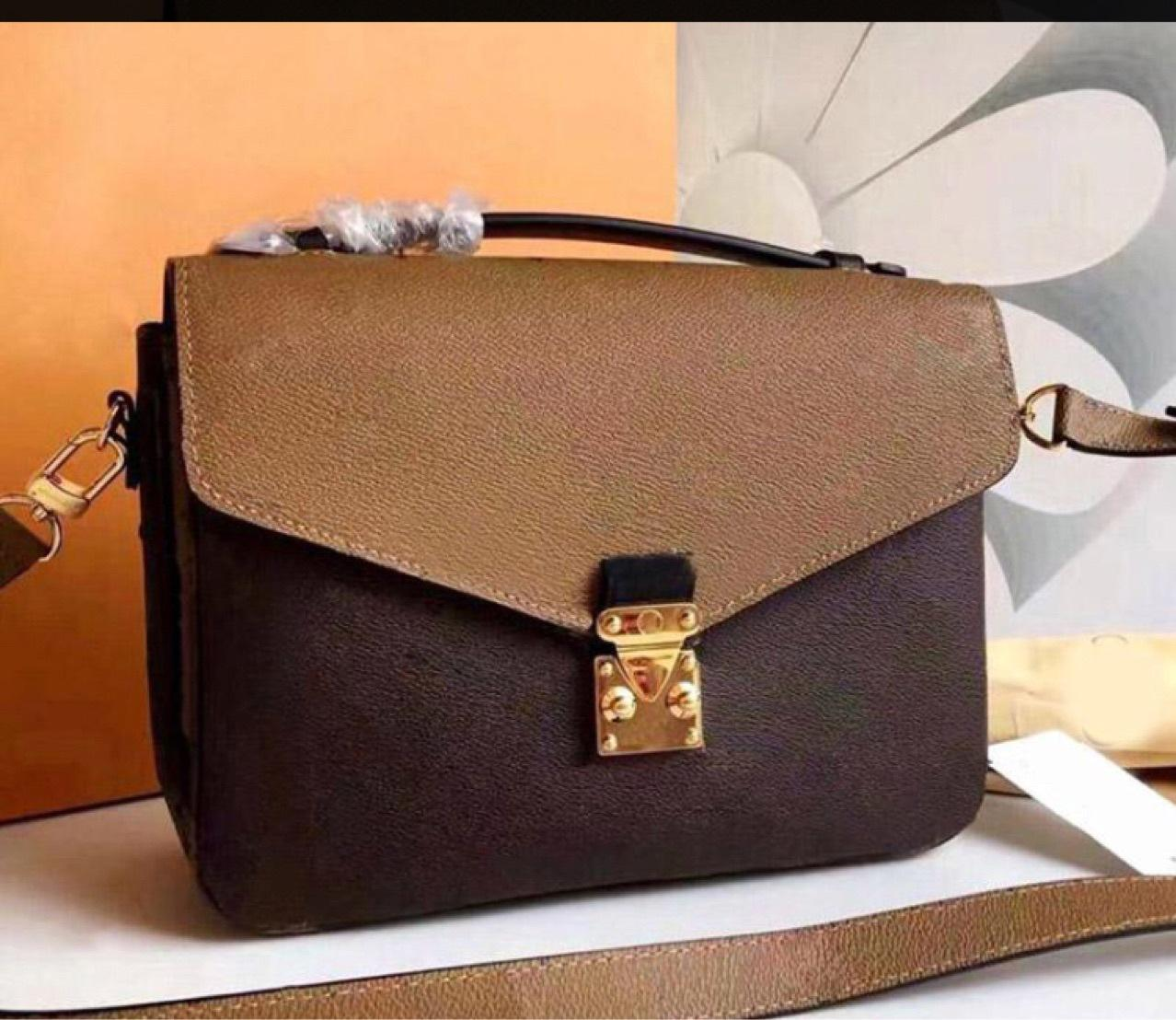 Orenginale Genuine Pelle Designer Cross Body Messenger Bag Girls Lady Donne Donne Satchel Borsa a mano Presboopic Mini Borsa a tracolla