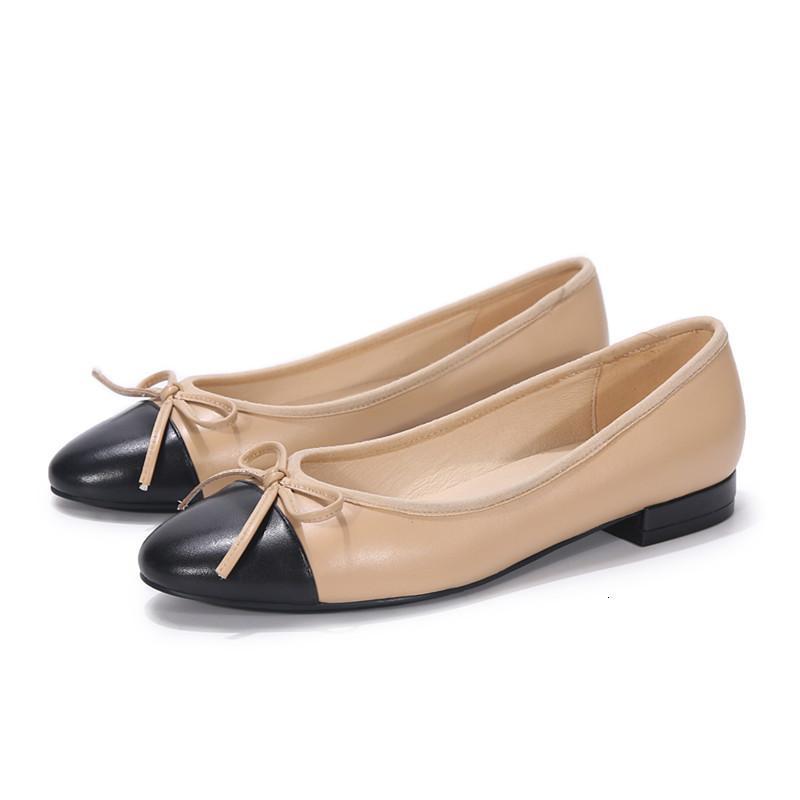 Ew primavera clássico rodada dedo do pé balé flats plus size mulheres mocassins negros lolita sapatos zapatos mujer uyij