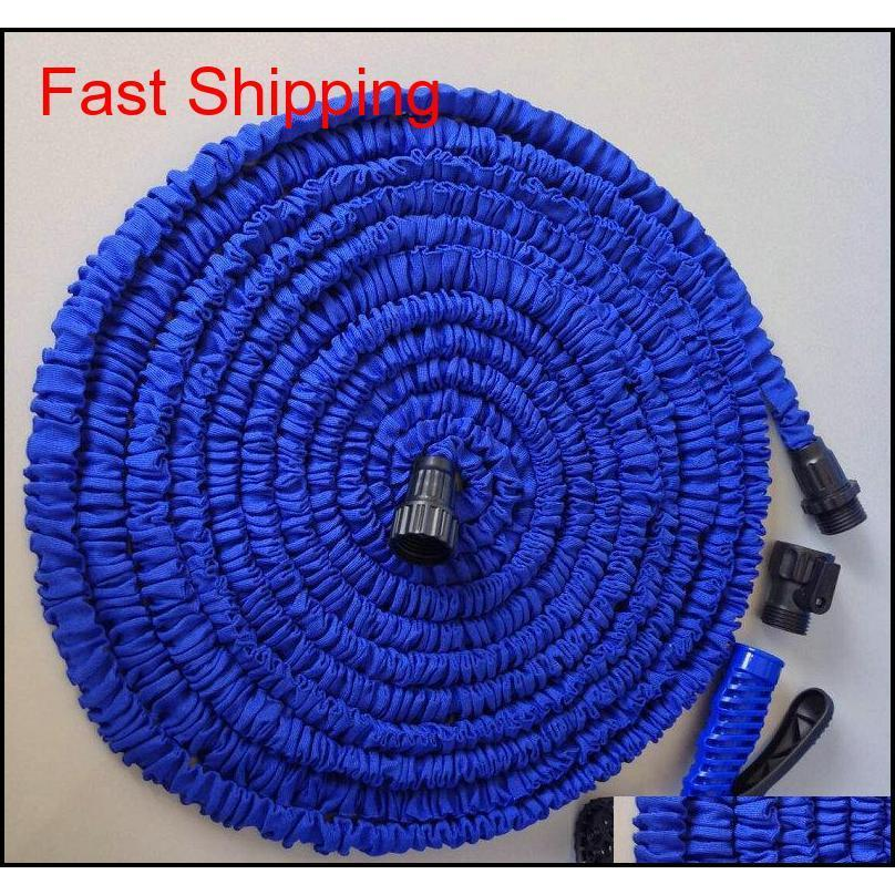 3x Expandable Magic Hose With 7in1 Spray Gun Nozzle 25ft/50ft/75ft/100ft Irrigation System Garden Hose Water Gu qylDdo homes2011