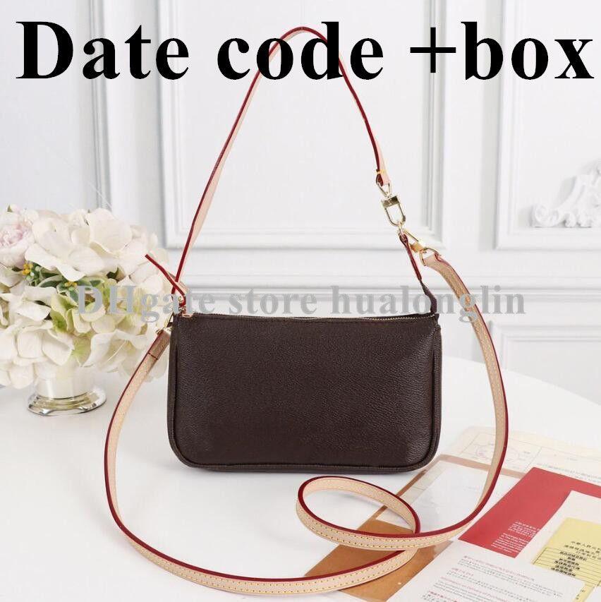 Bolsa Mulheres Couro Cinta + Punho Caixa Original Data Código de Embreagem Da Embreagem Mulher Saco De Ombro