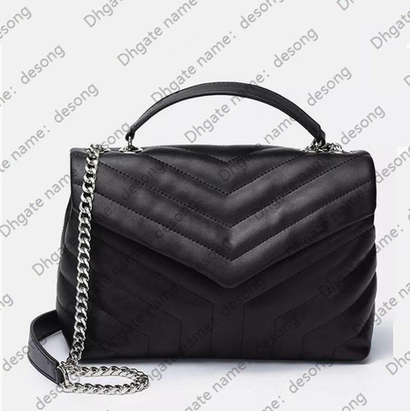 Luxurys sac fourre-tout Femme Chaîne designers cuir véritable sac à main de sacs à main Bandoulière 20110301D sac à bandoulière sacs sacs à main noir Janxj