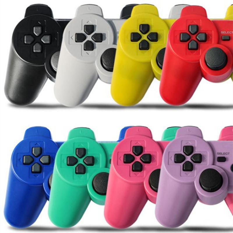 Controller Wireless Bluetooth doppio gioco di scossa per Play Station 3 PS3 Joystick Gamepad con vendita al dettaglio Dropshipping imballaggio