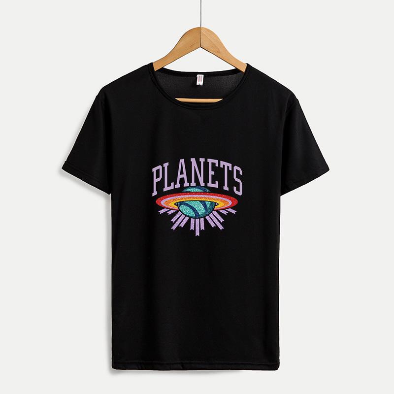 2020 Chegada Nova mulheres DIY camisetas Grupo Mulheres Moda Neck camisetas respirável Casual Mulheres Tops T customizável Plus Size M-4XL A665