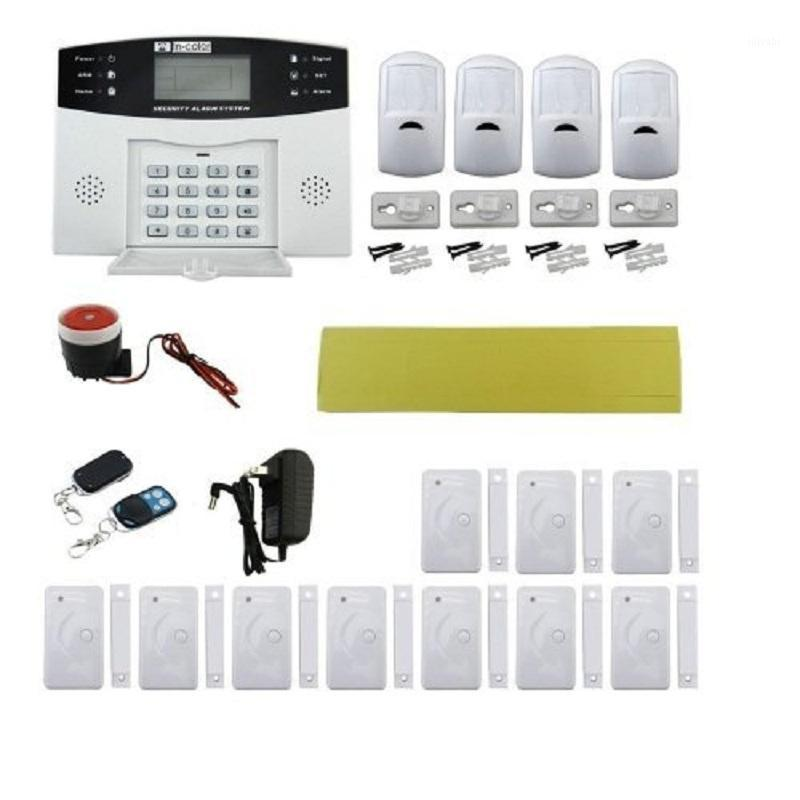 Yobangsecurity 433MHZ Wireless Wiress GSM Inicio Sistema de alarma antirrobo español Italiano CEZCH Voice Pir Detector Metal Control Remoto1