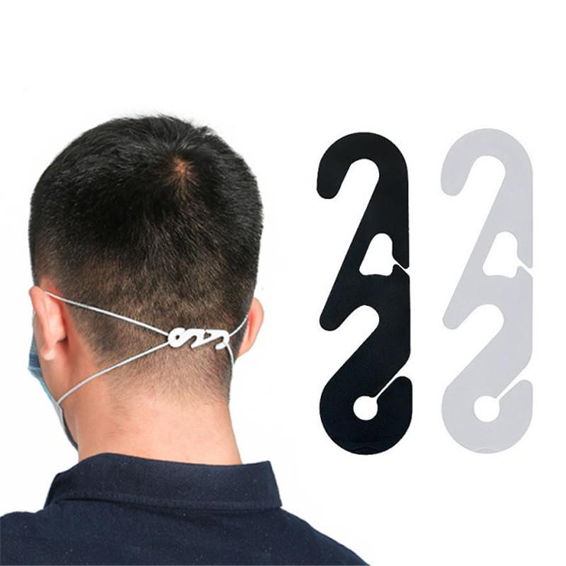 Máscara descartável Fivela Fivela Ear Savers Extensão Fivelas Ajustável Corda Mascarilha Fivelas Ear-Hook Anti-Perdido Artefato Relativo Dor