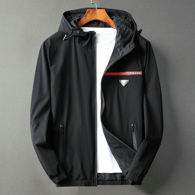 Sonbahar Ve Kış moda lüks siyah kırmızı Ceket kapüşonlu yüksek kalitede Gömlek Windproof Yaka adam ceketler için 2020 Yeni Erkek Üst tasarımcı ceketler