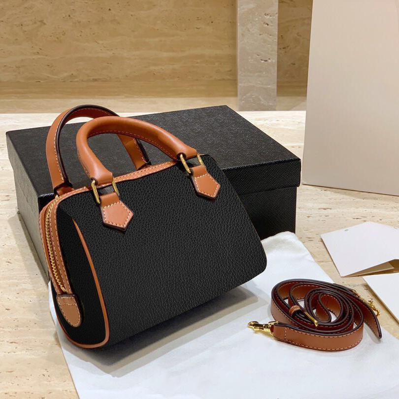 kutu Mini Crossbodybag Eyer Yüksek Kalite Bag 002 ile 2020 Tasarımcı Lüks Çantalar Cüzdanlar Bayan Omuz çantası Gerçek Deri Yastık torbası