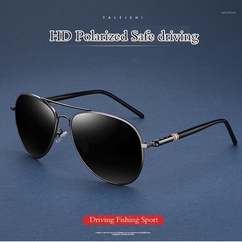 2020 Anti-reflexivo aviação óculos de sol polarizados homens esportes sol óculos de condução óculos óculos óculos acessórios masculinos shades1