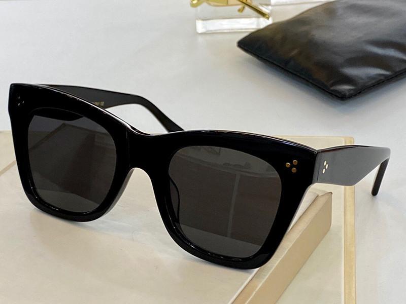 Sonnenbrille für Frauen Sommer Katze Augen Stil Anti-Ultraviolett 4S004 Retro-Platte Oval-Vollbild-Modebrillen Random Box