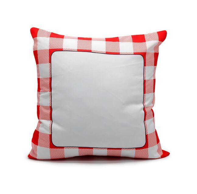 Coussin d'oreiller Sublimation Coussin d'oreiller blanc Coussin Coussins Coussins de transfert de chaleur en polyester pour le meilleur cadeau
