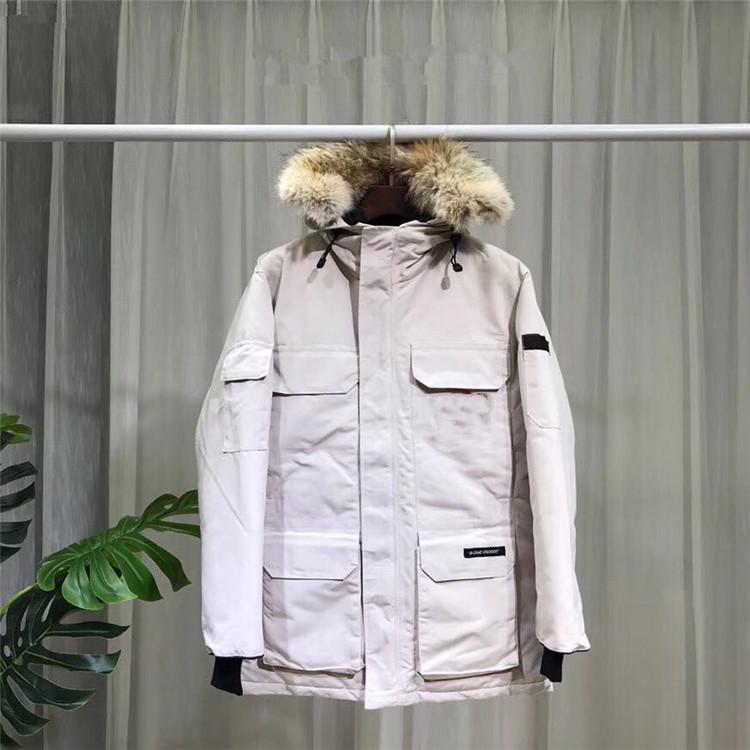 Top Down hilliwack Parkas Bomber Jacket manter aquecido Branco Vermelho Azul Verde Laranja Preto Mens Womens homens casaco de inverno jaqueta