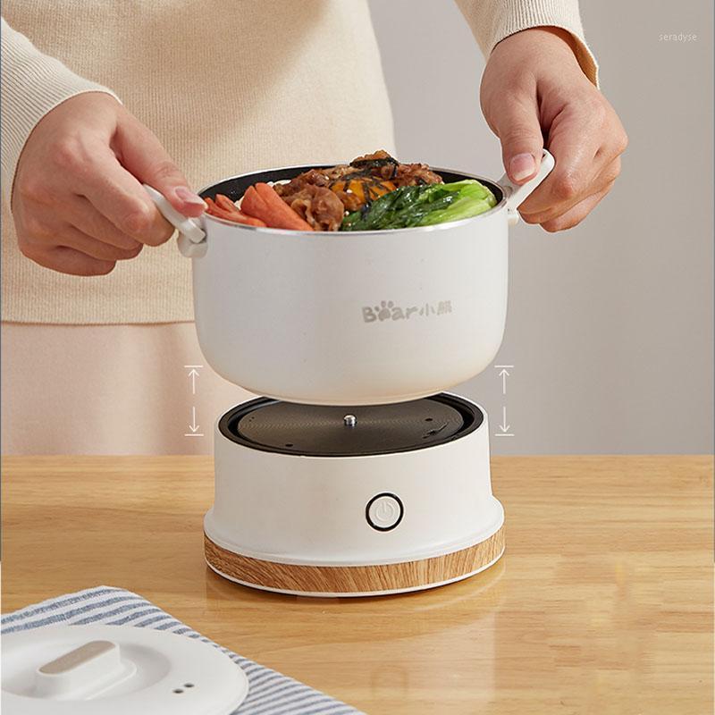110-240 فولت قابلة للطي الكهربائية multicooker البسيطة المحمولة قابلة للطي وعاء حار وعاء الطبخ للسفر المنزلية طنجرة الأرز سبليت نوع 1