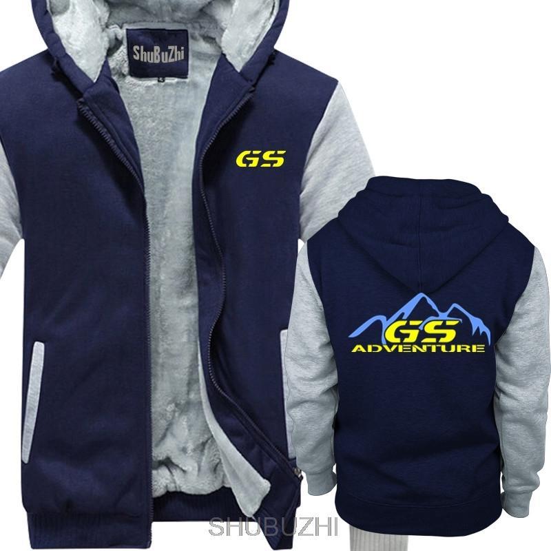 Kalın Erkekler kış Casual Hoody fan Macera İçin R 1100 1150 1200 Gs GSA Sürücü özel kalın Hoodies sbz4364 Y201006 hoodies