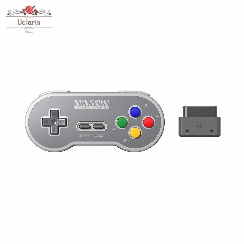 Game Controller Joysticks 8 Bitdo Sn30 2.4g Draadloze Wireless Gamepad Voor Originele Snes / SFC (SN Editie) -Super Nes Plug and Play1