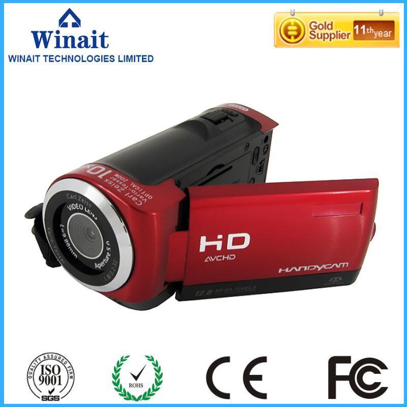 """كاميرات الفيديو 2.7 """"شاشة LCD مصغرة كاميرا فيديو رقمي DV-20 12MP 8X Zoom PO كاميرا الفيديو"""