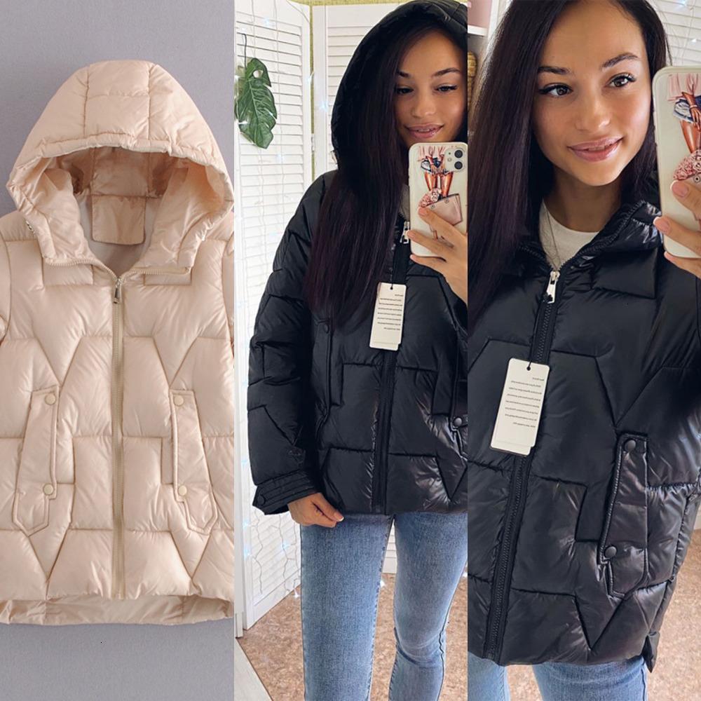 Vrouwen inverno jas parka 2020 nieuwe mode jeugd slim hooded vrouwen parka jas casual straat weare herfst winterjas jas 1 d8xv