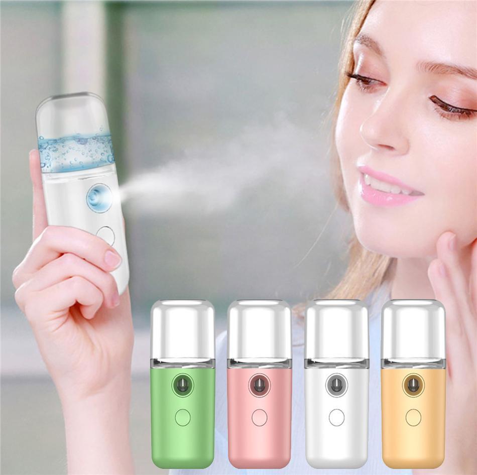 Мини Face поток красоты спрей Ручной воды машина Увлажняющий Nano Ionic Mist Face Увлажнитель Sauna Pore лица очищающее средство
