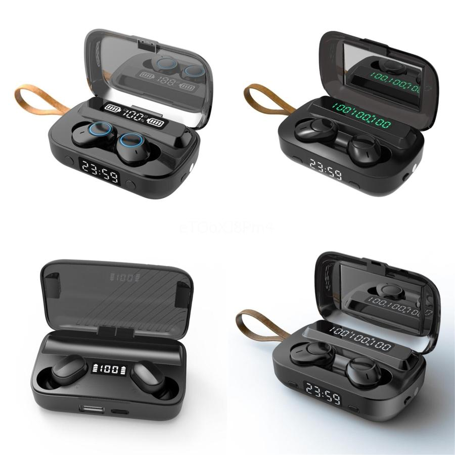 Auscultadores sem fios XS Além disso IPX7 Stereo Waterproof Touch Control TWS Bluetooth V5.0 Em fone de ouvido para Samsung Smart Telefone # 888