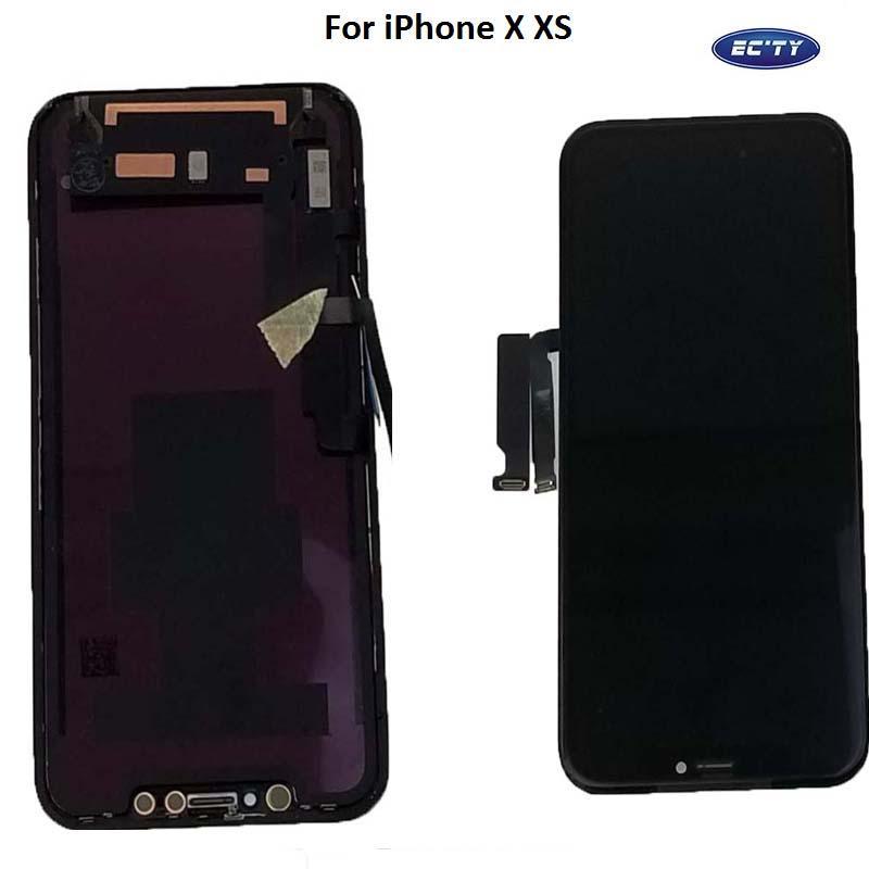 استبدال قطع غيار 10PCS نوعية جيدة OLED شاشة عرض LCD تعمل باللمس الجمعية محول الأرقام لفون X إكسس XR DHL مجانا