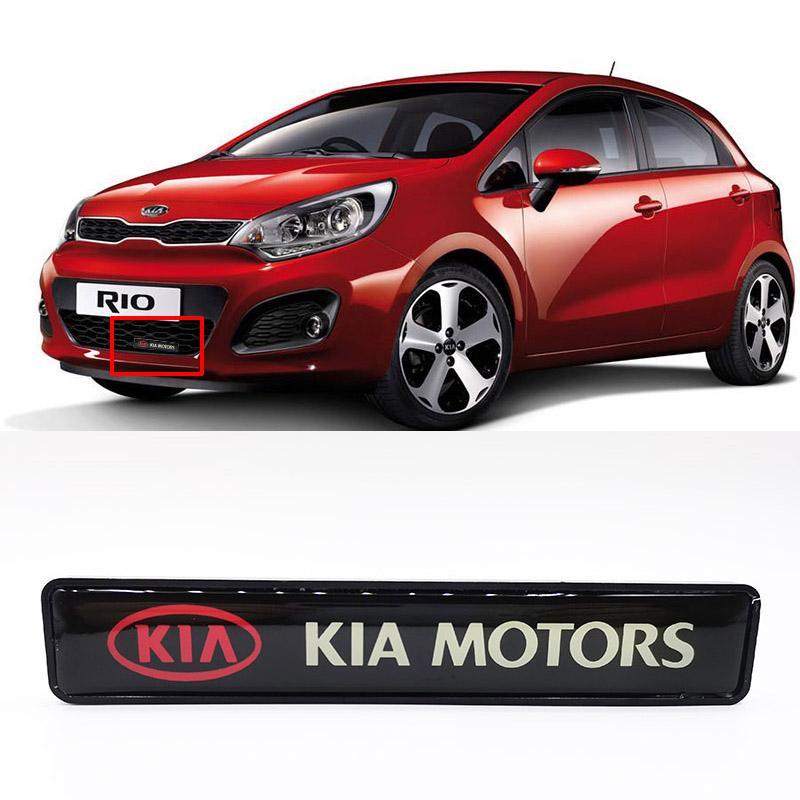 Kia dell'emblema del distintivo DRL corrente di giorno della luce della lampada Hood griglia della griglia del cofano ha condotto la luce per Kia K2 K3 K4 K5 Kx3 KX5 Rio