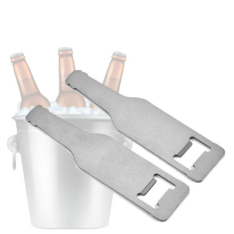 Acero inoxidable del abrelatas de la pared de colgante Monte abridor de botellas de vino Abridores portátil duradero botella de cerveza del abrelatas Cocina camarero de la barra de herramientas BWC3568