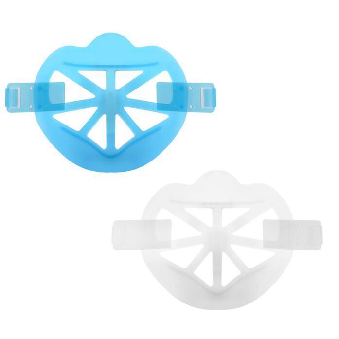 3D Maske Halterung Knopf Befestigung Lippenstift Schutzständer Maske Innenstützrahmen Gesichtsmasken Halter Klarmasken Halterung GGB3816