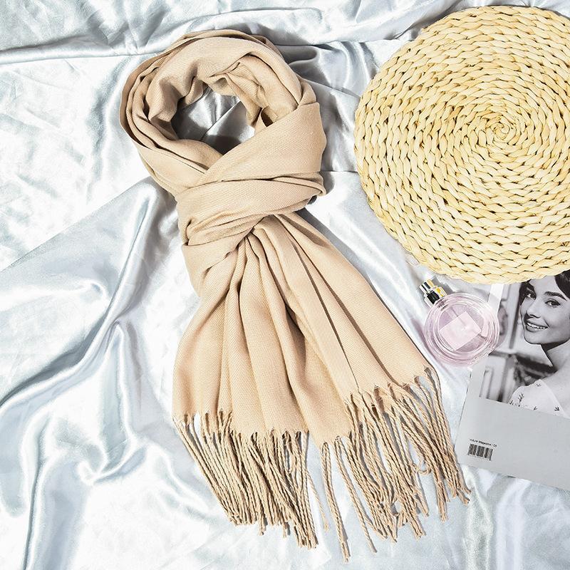Малая Покупка! Закупка Образцы! Бестселлеры !! Унисекс содержащего кашемир шарфы платок теплый шарф равнина акции более цвет 200 * 70сма