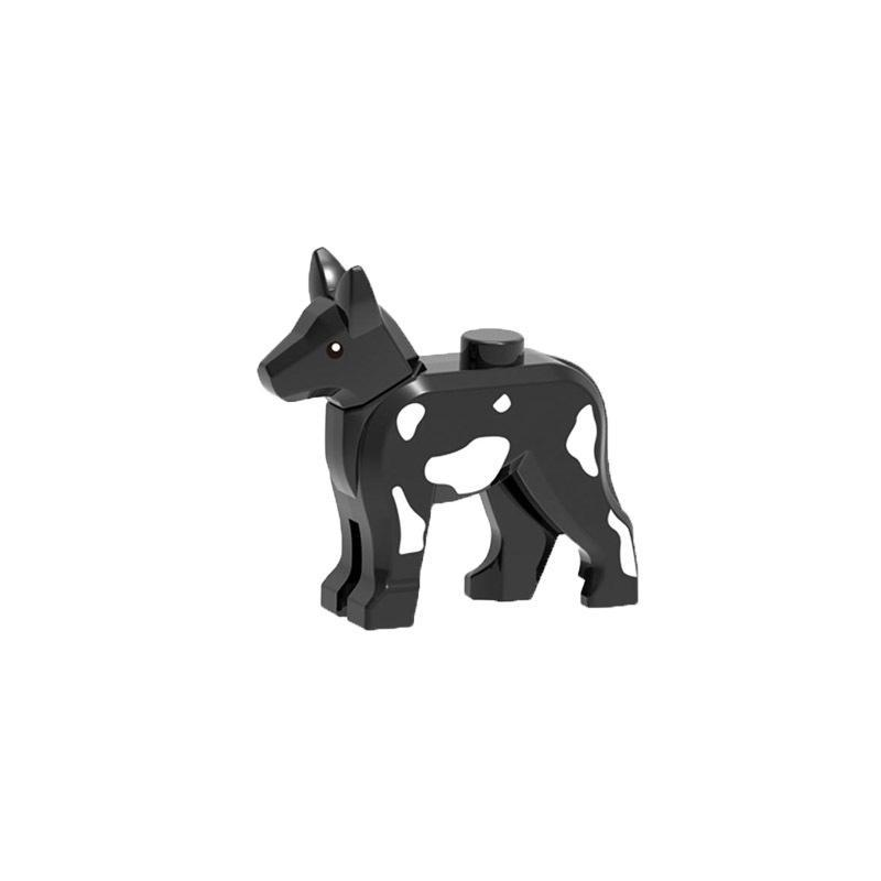 Blocks For Animals Police Dogs 5pcs Diy Toys Figures Model For Children Education Toy Gift Play With Friends City Building Block bbyaqt