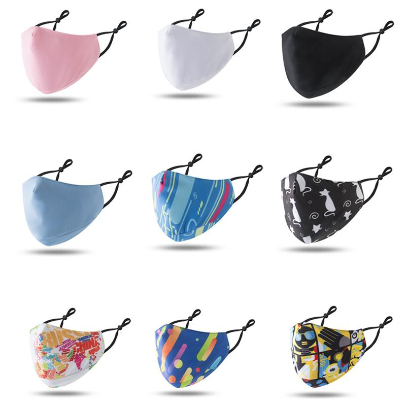 Adjustable Ear Hook All Cotton Face Masks All Cotton Dust-proof Haze Proof Breathable Protective Face Mask Easy To Breathe and Wash