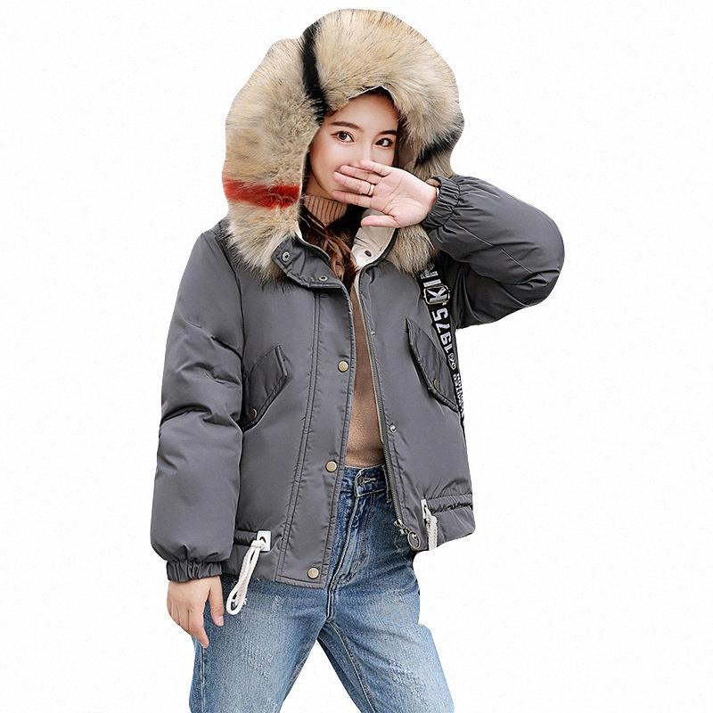 Frauen Daunenparka Frauen-Winter 2019 Outfit lose Baumwoll Parka-Mantel Femme Aufmaß Jacken-Mantel-Parka für nQHK #