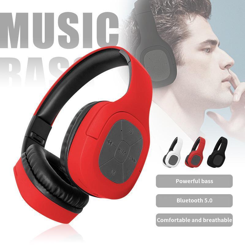 Bluetooth Kopfhörer drahtloser Kopfhörer Stereo faltbare Sport-Kopfhörer-Mikrofon-Kopfhörer Freisprecheinrichtung für PC Handy MP3