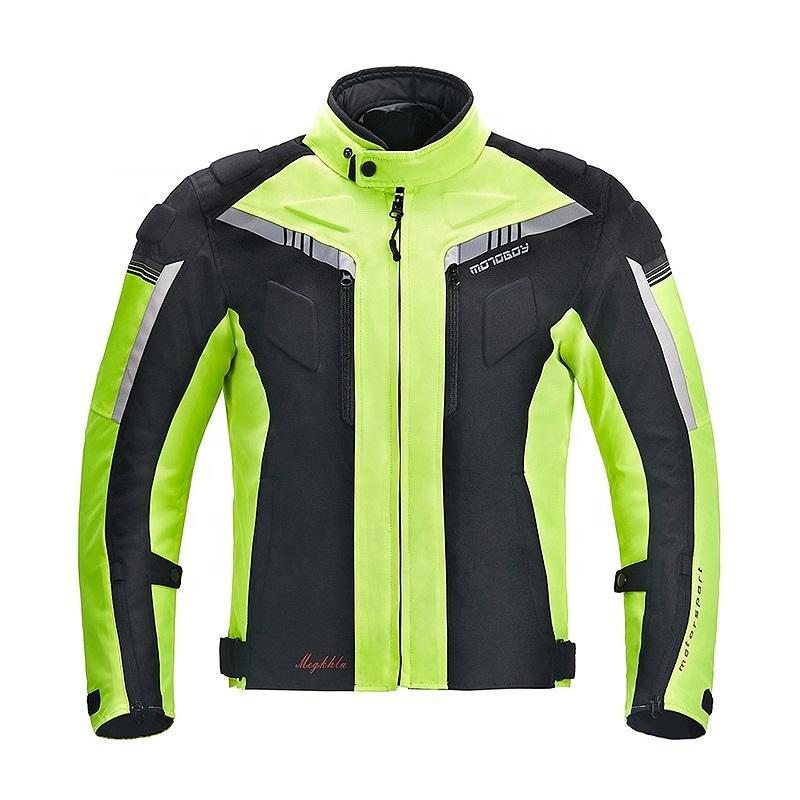 Yüksek Kalite CE standardı Yansıtıcı dört mevsim Motosiklet Ceket Su geçirmez Suit Motosiklet Motor Giyim