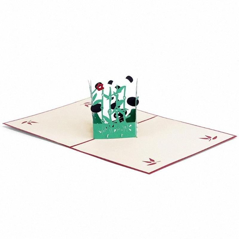 Convite de papel Kraft Convite do partido da flor do casamento Cartão Com Envelope Handmade seco Envelopes Vx5h #