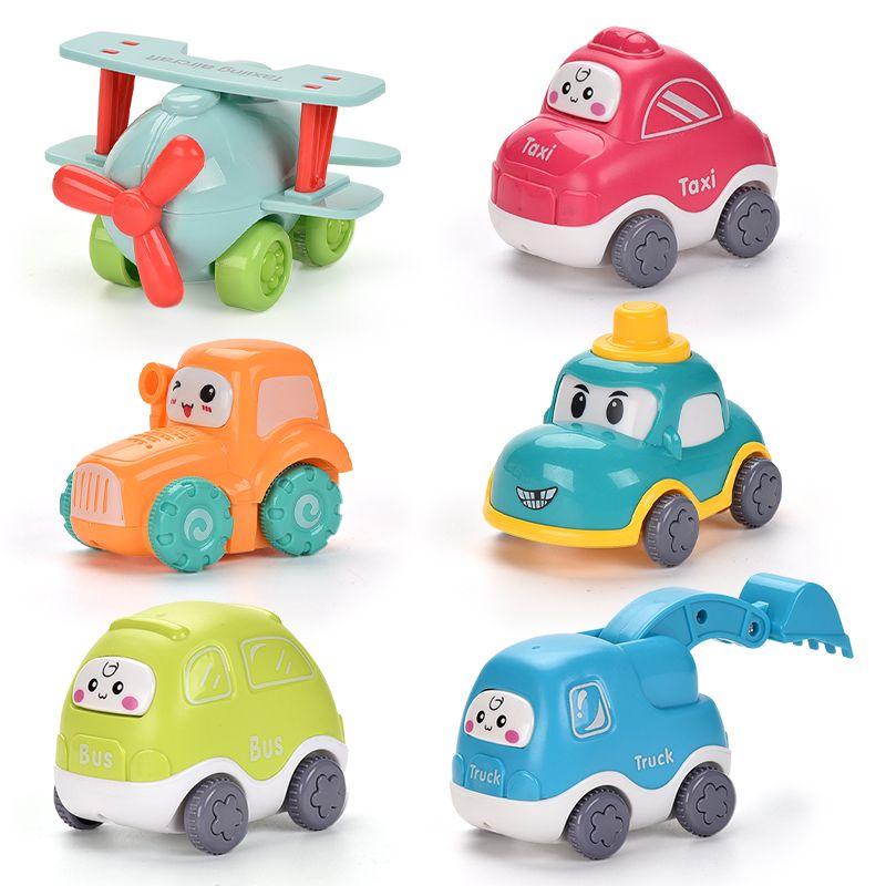 Нового мультфильм инерционного автомобиля высокого качества головоломка игрушка цвет охладиться подарок для ребенка модели автомобиля