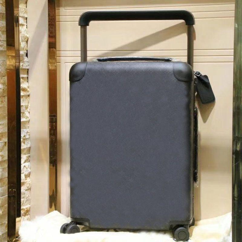 صحيفة سفر حقيبة سفر الأمتعة أزياء الرجال النساء جذع حقيبة محفظة قضيب مربع سبينر العالمي عجلة القماش الخشن أكياس