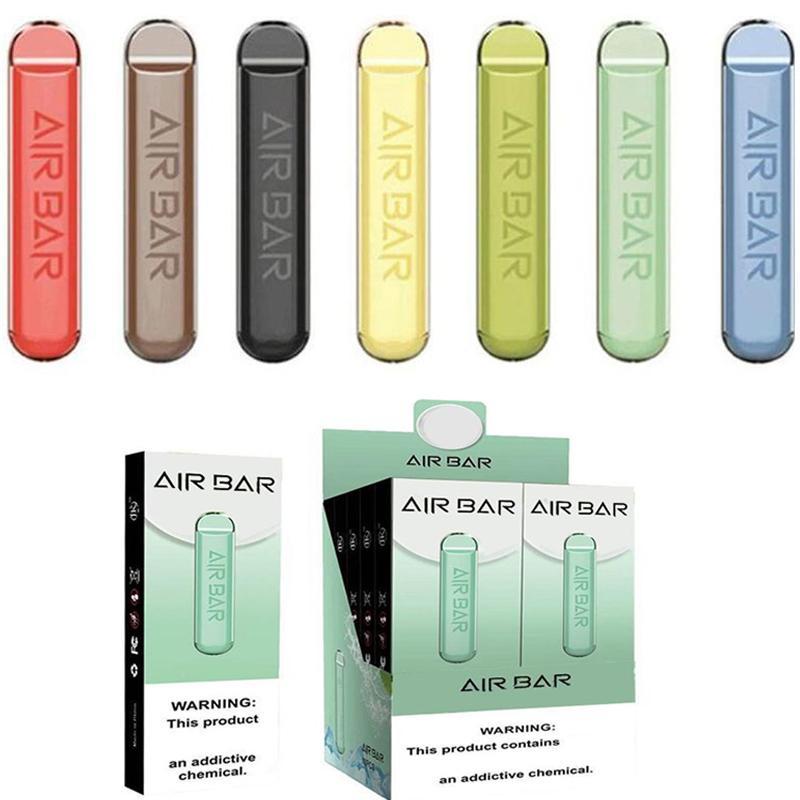 Air Bar Descartável Vape Pen 1.8ml POD Cartuchos 280mAh Bateria Airbar 500 Buff Lux Vapor Bar Ecig Portable Plus Starter Kit