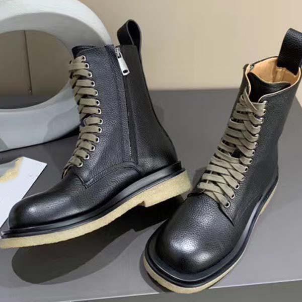 Stivali parte inferiore piana 2020-superiori di nuova qualità donne del progettista di lusso Con Martin stivali di moda dei pattini casuali lavoro Stivali 34-40 con la scatola