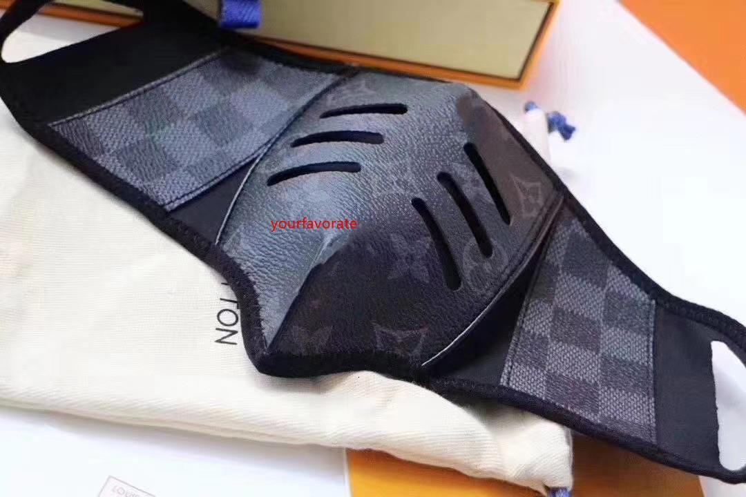 Защитный конструктор Anti-Dust Хлопок Роты маски для лица Черных масок Унисекса маски для лица мужчин женщины носить черную моду Facemas