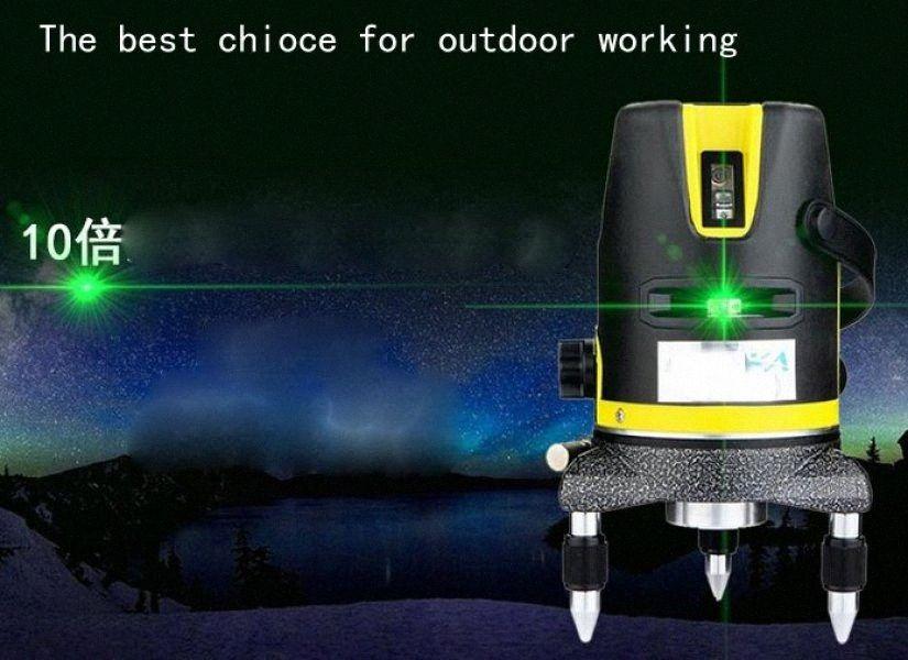 Оптово-лазерной маркировки инструмент выравнивания линии лазерного нивелир Green Line 13z8 #