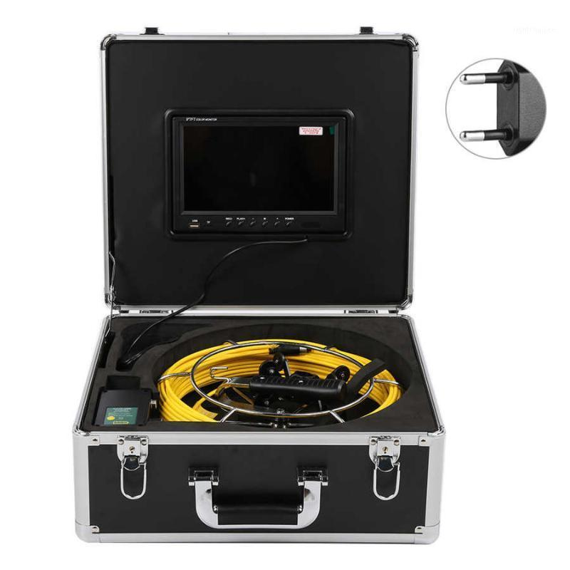 Scatola Telecamere 9in Display DVR 1080P Dual fotocamera IP68 Impermeabile per tubi sotterranei con cavo 98.4FT 100- 240V1