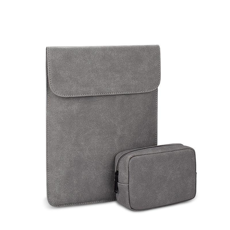 لتفاحة ماك بوك دفتر بطانة حقيبة واقية رقيقة جدا بو الجلود كم القضية مجموعة ل xiaomi 13456 بوصة دعم شعار مخصص