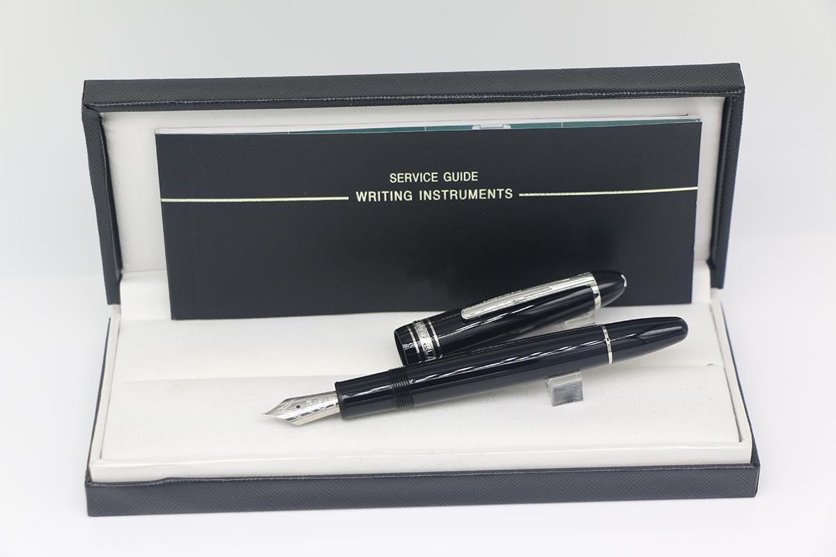 جودة عالية 149 نافورة القلم ماتي الأسود الكلاسيكية الفضة تقليم مع أفضل مركبات القرطاسية اللوازم مكتب المدرسة