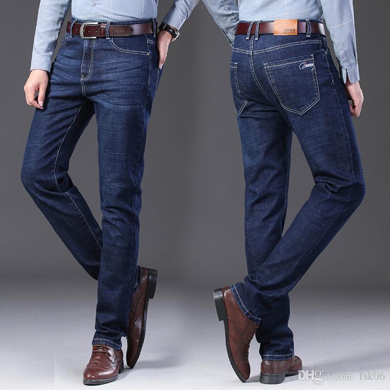Herren Jeans Jean Homme Denim Spijkerbroeken Heren Pants Biker Stretch Slim Fit Hose-beiläufige Masculina Pantalon Vaquero Jogger