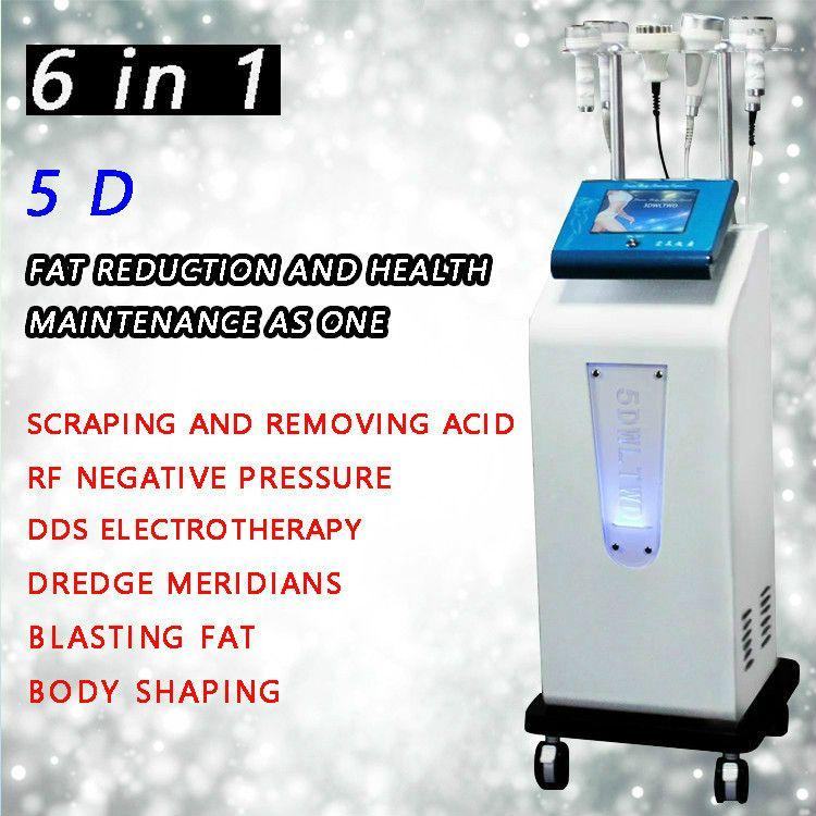 2020 venda quente 5d vácuo cavitação rosto levantando máquina de emagrecimento para forma de corpo e perda de peso