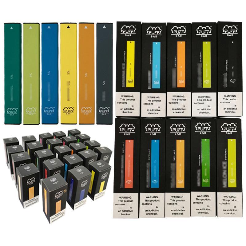 Pequeno mini tamanho caneta estilo E-cigarro de alta end vape caneta descartável cigarro eletrônico 300 puffs 280 mAh folhado barra clara