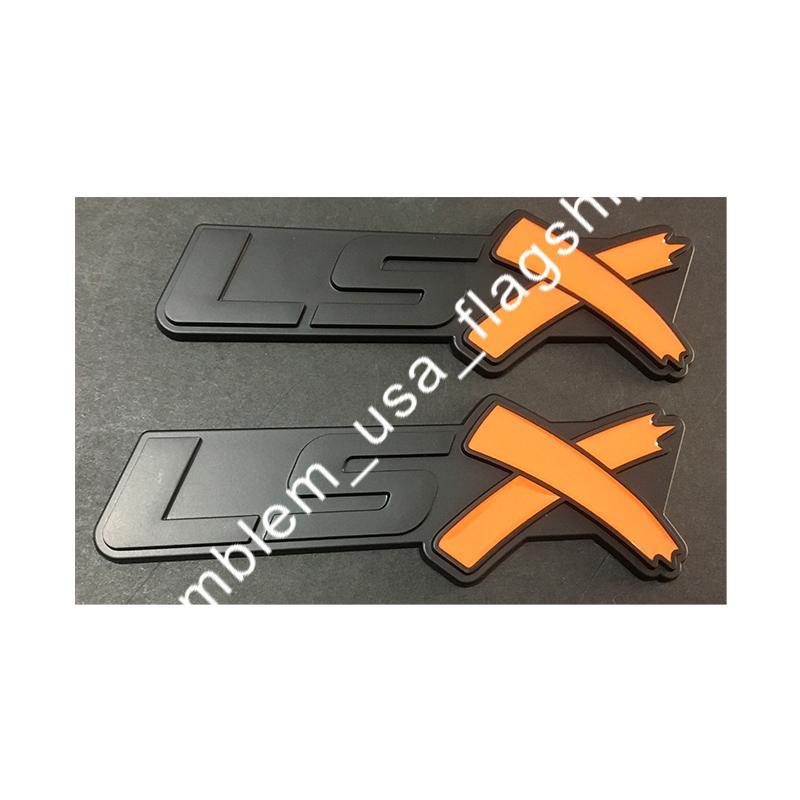 شحن مجاني إلكتروني LSX جذع الشعارات شارة لكامارو كورفيت LS SS Silverado