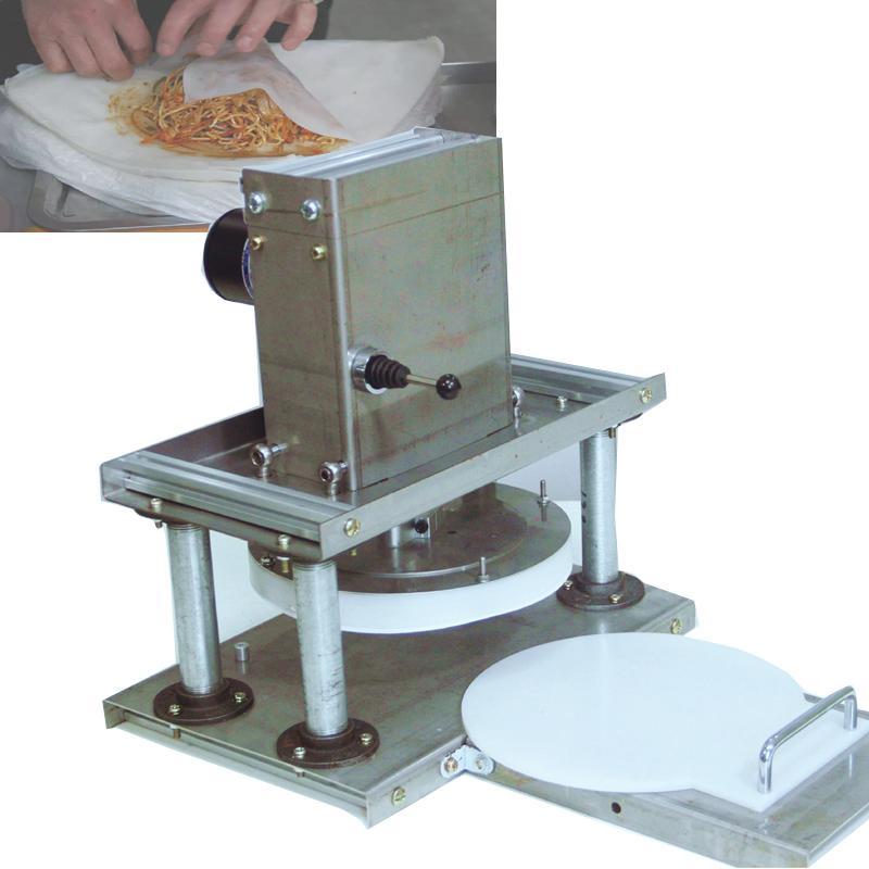 Тесто для пиццы торт пресс Тортилла пресс Коммерческих бытовой хрустящих кондитерского пресс Завод прямых продаж