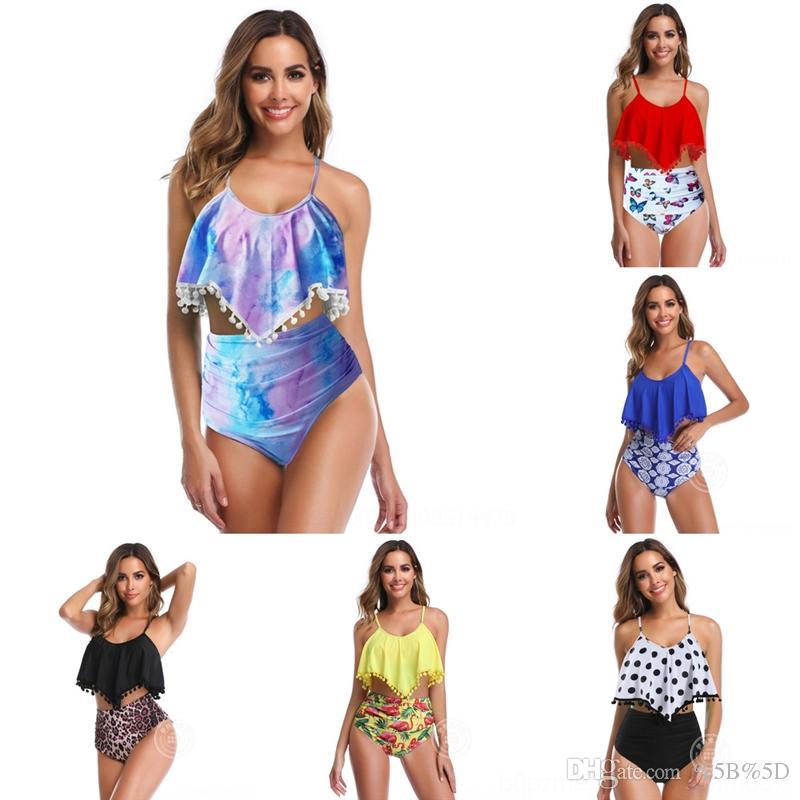 DJY Femmes Bikini Sous-vêtements Maillot de bain Floral Designers Maillots de bain Designers Bikini Womens Maillot de bain Maillots de bain Maillots de bain Combinaison Stume Sexy Summer Bikinis